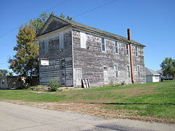 Abandoned Mason's lodge in Martinsburg