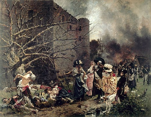 painterly pleasant french revolution - HD1200×928