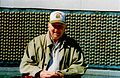 Mather at the Freedom Wall, 17 Ocbober 2004.jpg