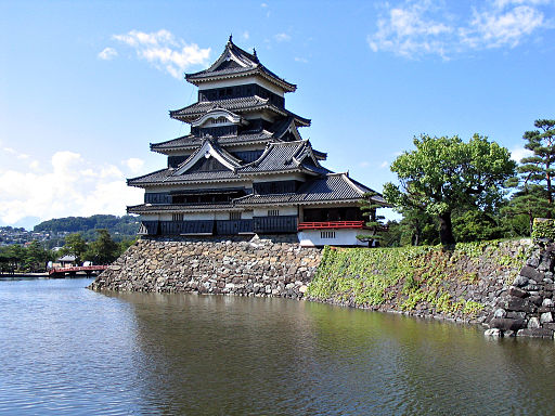 Matsumoto Castle far 0504