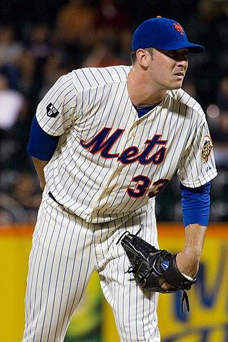 Matt Harvey - Matt Harvey on the mound at Citi Field in 2012