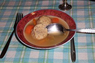 Matzo - An example of matzo balls.