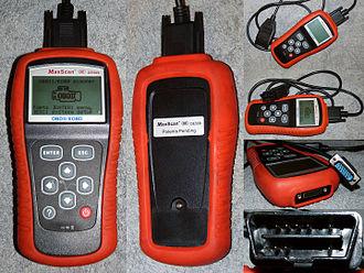 On-board diagnostics - Simple, rugged multi-brand handheld scanner
