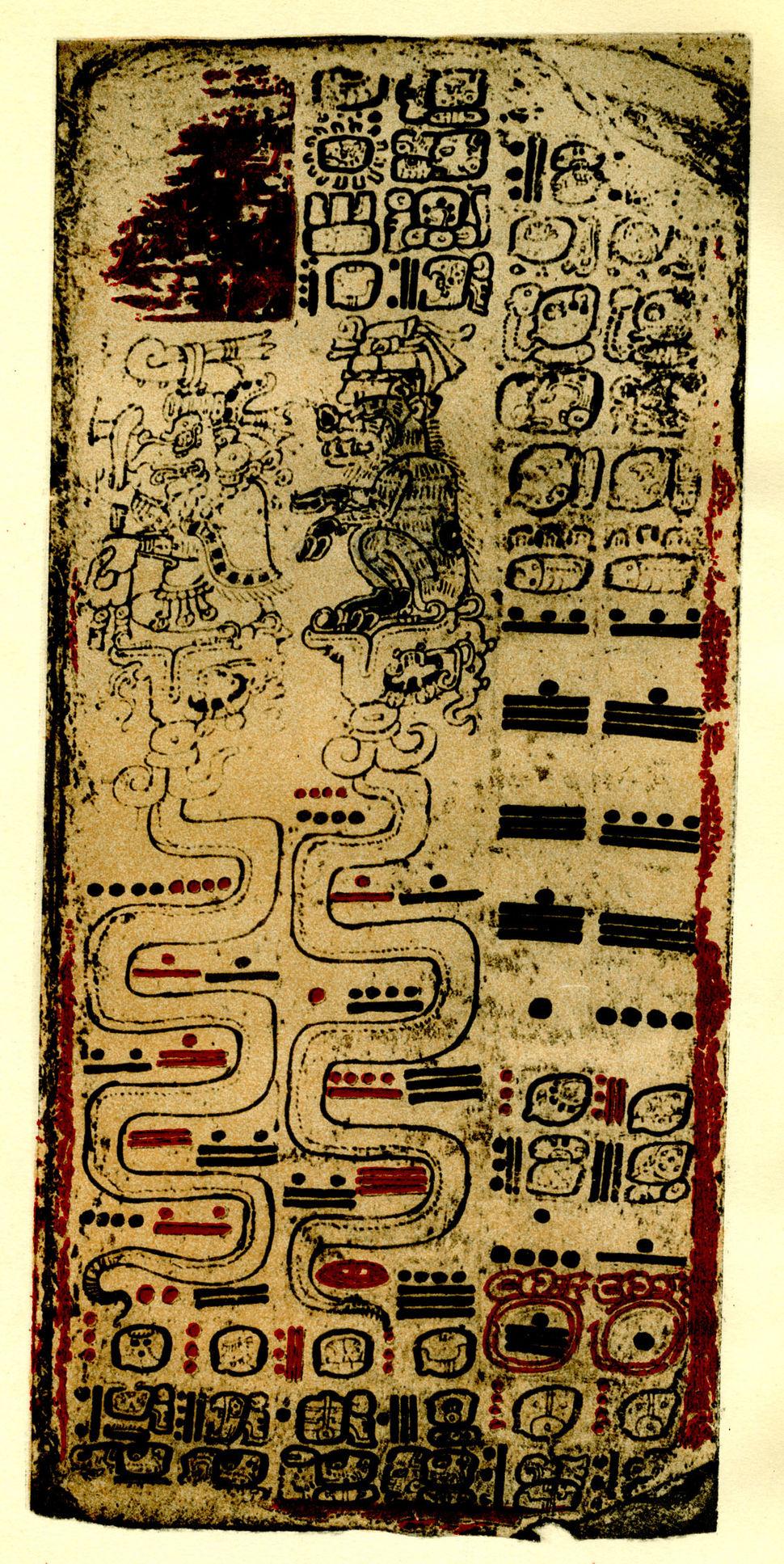 Maya Hieroglyphs Plate 32