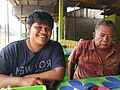 Mayendra dan Ayahnya H. Zubir M. S.jpg