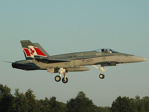 McDonnell Douglas CF-188A Hornet (CF-18A), Canada - Air Force AN0914155