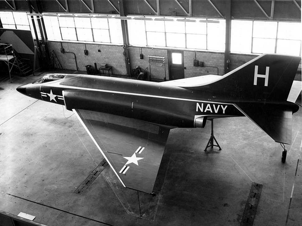 McDonnell F3H-G mockup in 1954