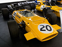 McLaren M9A front-right Donington Grand Prix Collection.jpg