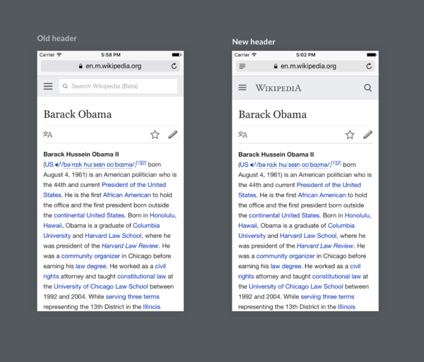 MediaWiki mobile header comparison.png