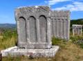 Medieval tombstones of Montenegro.png