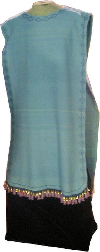 Priestly robe (Judaism) - The robe of the High Priest as created by the Temple Institute.