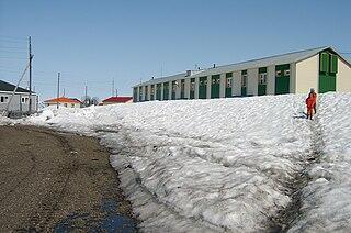 Meynypilgyno Selo in Chukotka Autonomous Okrug, Russia
