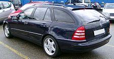 Mercedes S203 rear 20080312.jpg