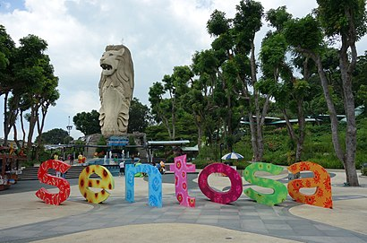 How to get to Siloso Beach with public transport- About the place
