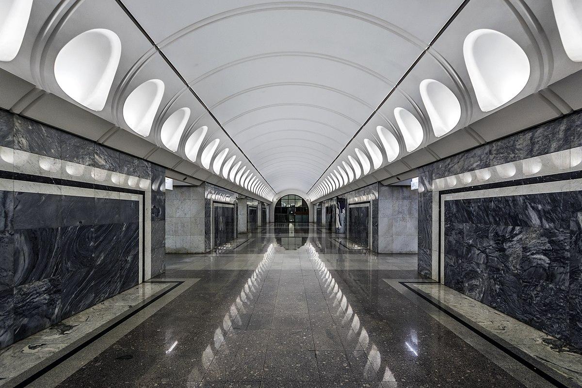 Dostoevskaya  Moscow Metro   Wikipedia