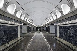 Dostoevskaya (Moscow Metro) - Image: Metro MSK Line 10 Dostoevskaya