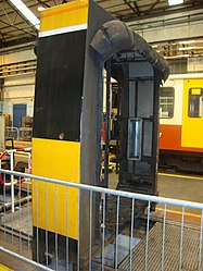 Metrocar mid-section, Tyne and Wear Metro depot open day, 8 August 2010.jpg
