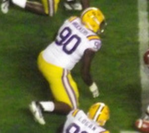 Michael Brockers - Brockers with the LSU Tigers in 2011