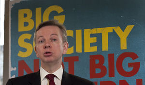 "Michael Gove - Gove speaking at the Conservative Party ""Big Society, Not Big Government"" policy launch"