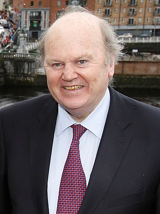 "Central Bank of Ireland - In 2016, former Irish Finance Minister Michael Noonan, told an Irish MEP to ""put on the green jersey"" when told of a new Irish corporate BEPS tax tool to replace the prohibited ""Double Irish"" tool."