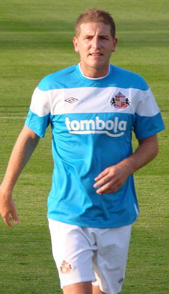 Michael Turner (footballer) - Turner playing for Sunderland in 2011