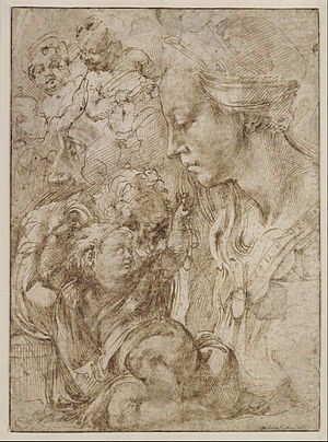 Studies for a Holy Family