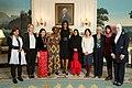 Michelle Obama greets International Women of Courage Award recipients, 2015.jpg