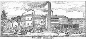 Jameson Experience, Midleton - The Midleton Distillery, as it looked when Alfred Barnard visited in 1886.