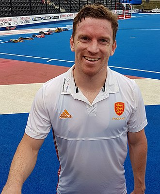 Michael Hoare (field hockey) - Mike Hoare at Lee Valley Hockey Centre in June 2017
