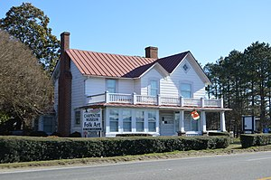 National Register of Historic Places listings in Sussex County, Virginia - Image: Miles B. Carpenter House in Waverly