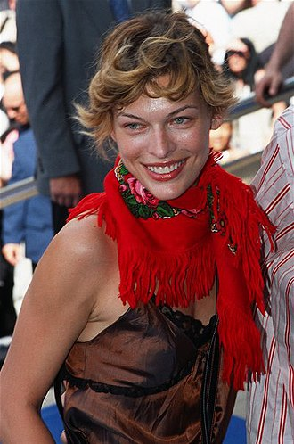 Milla Jovovich - Jovovich at the 2002 Cannes Film Festival