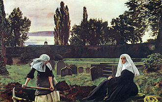 1859 in art - Millais – The Vale of Rest