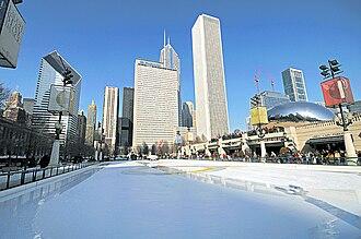 McCormick Tribune Plaza & Ice Rink - Image: Millennium park rink