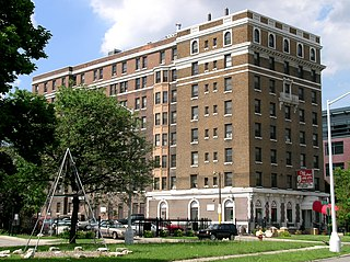 Milner Arms Apartments United States historic place