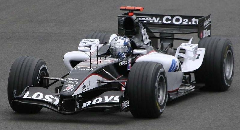 Minardi PS05 British GP 2005