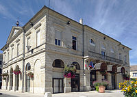 Miramont-de-Guyenne - Hôtel de ville.JPG