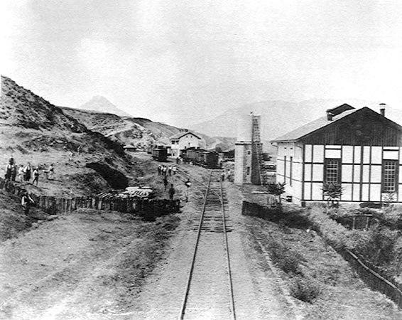 Mitrovica train station 1894