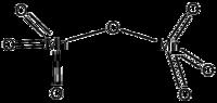 Struktur von Mangan(VII)-oxid