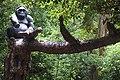 Monkey Statue in Mysore Zoo.jpg