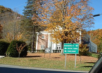 Monroe, Massachusetts - Monroe Town Hall