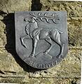 Montabaur, Rastplatz gegenüber Amtsgericht, Wappen Sebnitz.JPG