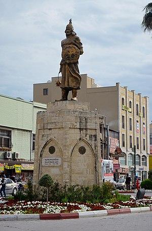 Suleiman ibn Qutulmish - Image: Monument Of Kutalmişoğlu SüleymanŞah Tarsus