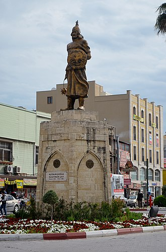 Suleiman ibn Qutulmish - Kutalmışoglu Suleiman monument in Tarsus, Mersin