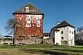 Moosburg Schloss 1 Schloss West-Ansicht 27102016 5155.jpg