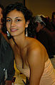 Morena and with a fan at DragonCon 2005 (cropped).jpg