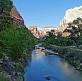 Morning on the Trail, Zion NP (18823159333).jpg