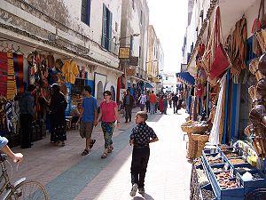 """Boho/barefoot chic"": Essaouira, Morocco"