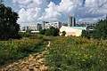 Moscow, Zapovednaya Street, sports facilities in Chermyanka Valley (31520982026).jpg