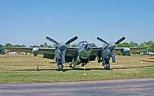 Un Mosquito B.Mk 35, una delle ultime versioni bombardiere prodotte.