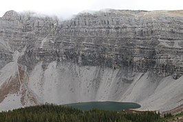 Mount Borgeau, First Lake.JPG